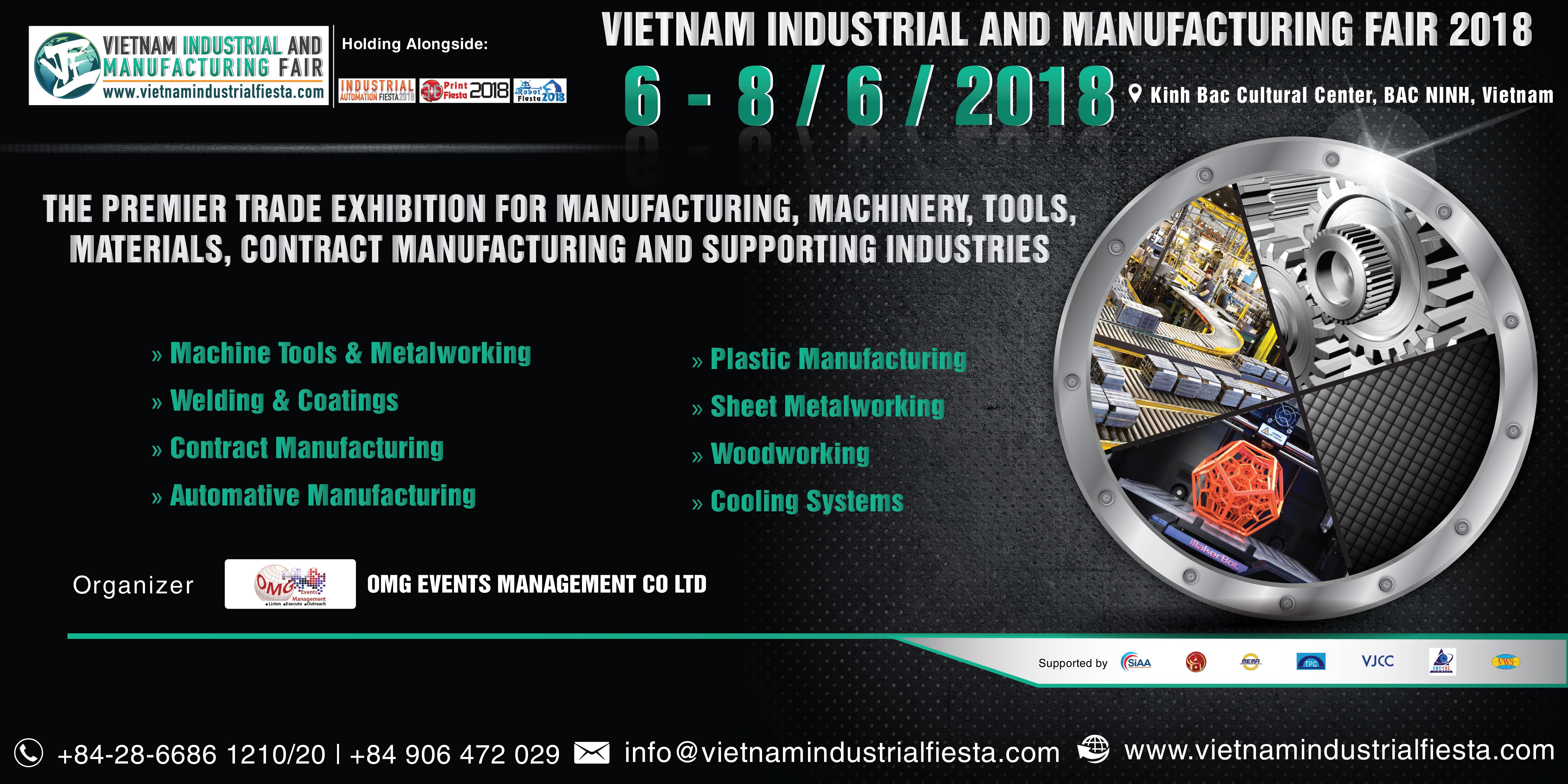 Vietnam Industrial & Manufacturing Fair 2018 ( VIMF 2018)