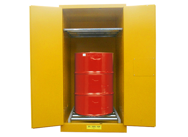 Drum Storage Cabinet, 55Gal/208L