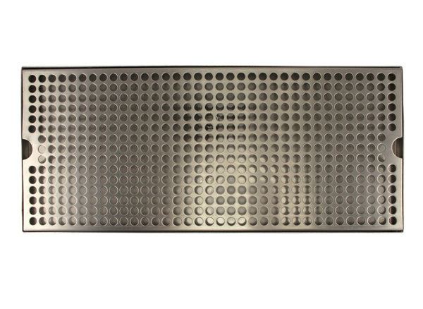 Stainless Steel Countertop Drip Tray (with drain)