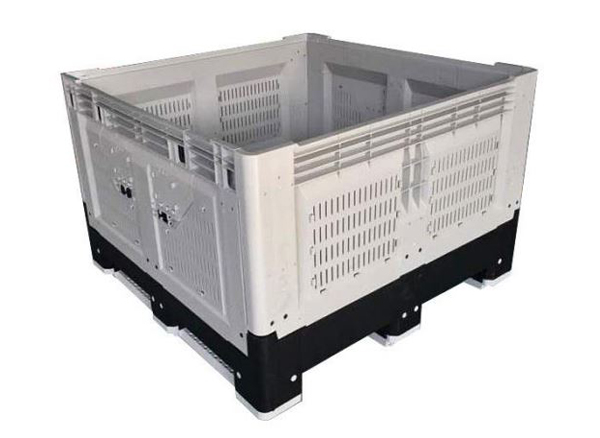 Pallet Container, vented, foldable, 1116x116x79cm
