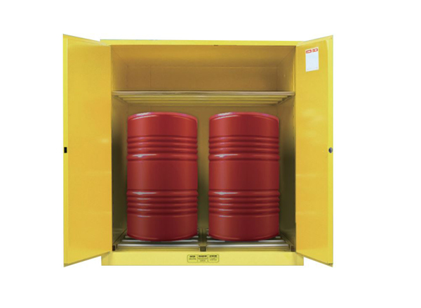 Drum Storage Cabinet, 2 Drums