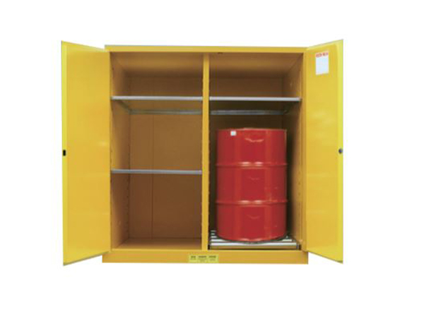 Drum Storage Cabinet, 110Gal/416L, 1 drum