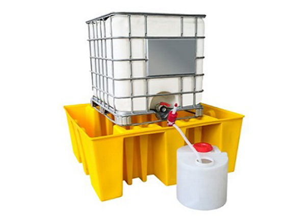 IBC Spill Containment Pallet, 1650x1550x715mm