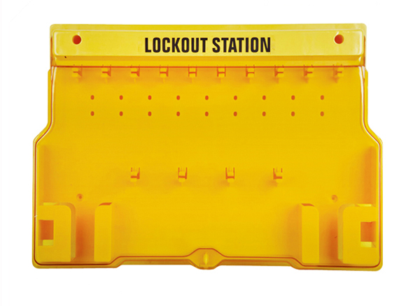 Lockout Station, 10 padlock