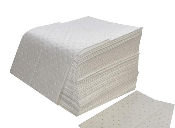 Oil Absorbent Pad with dimples and perforated, 2mm