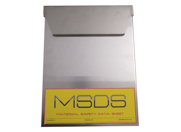 MSDS Box for Flammable Storage Cabinet