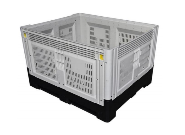 Pallet Container, vented, foldable, 120x100x81cm