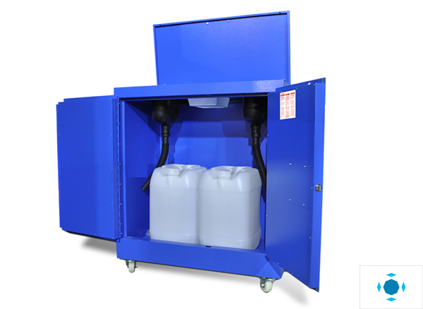 Waste Liquid Collecting Cabinet